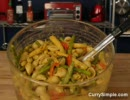 (英語音声)Thai Yellow Curry with Veggies over Pasta