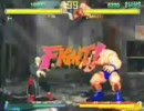 STREET FIGHTER ZERO2 GEN vs ZANGIEF