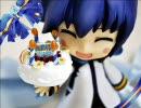 ねんどろいどのミニチュア誕生日ケーキ作ってみた