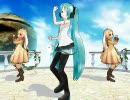 【MikuMikuDance】 てってってーをちびミクとうさうさで踊っ...