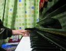 テニミュのパワー忍者ですをピアノで弾いてみた
