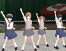 【3Dカスタム少女】とある科学のケロ⑨destiny改【MMD】