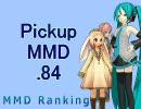 【MikuMikuDance】Pickupランキング.84 (