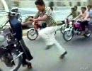 間違ったバイクの乗り方