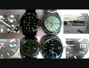 腕時計の秒針を撮影してみた。
