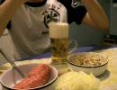 完全なる豚肉の生食とゾーヤシュプロッセン 【料理祭出品作】