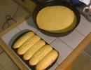 とうもろこしパンを作ります。
