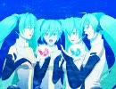 【初音ミクAppend】オリジナル曲「双月ヘ到ル階」