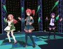 【MMD】重音テトの歌・UTAU三人娘で『LOL-