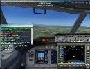 FSX セントレア-名古屋空港 超短距離便 B-737