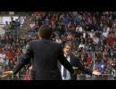 2010 5/30 サッカー日本対イングランド この日一番の見所 岡田vsカペッロ