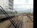 JR東西線321系区間快速 尼崎駅-加島駅間 前面展望