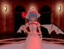 【東方MMD】紅魔館ロビー風ステージで踊ってもらった【配布あり】