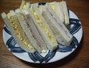 【深夜食堂】的 タマゴサンド+おまけ【第2回コクうま料理祭】