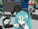 【MMD】初音ミクがあの楽器で「ぷっぴぴ」を路上演奏【データ配布】