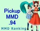 【MikuMikuDance】Pickupランキング.94 (