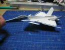 エースコンバット6のCFA-44を紙飛行機にしてみた【オマケ付き】