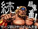 【MUGEN】続・超鬼畜!ゲージMAXサバイバル大会 OP