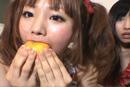 みかんをまるごと食べてみた。(2010.7.2 at GGW)