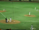 2010/07/19 巨人対東京ヤクルト 脇谷の適時三塁打で由伸と長野が生還