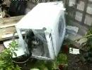 パイルダーオンして悶絶する洗濯機Z