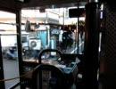 関東バス南善福寺バス停のターンテーブル