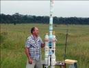 2段階式ペットボトルロケットを246メート