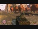 GTA4 EFLC 戦車でメチャクチャプレイ