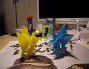 【折り紙】いろいろな鶴を折ってみた