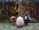 【モンハン】羊毛フェルトでアイルー・メラルー・プーギーを作ってみた