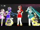 【第5回MMD杯本選】光響戦隊カナデンジャー(TVサイズ)【KAITOオリジナル曲】