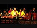 ベトナム ハノイ 水上人形劇〜音楽隊の演奏 (お姉さんミスする)