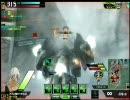 【ボーダーブレイク】S1重火力の動きが激流に身を任せている動画