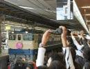 「鉄ヲタ大集結!!」EF65PFけん引のトワイライト団臨@大阪駅