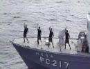 巡視船艇「いそなみ」でAKB48の会いたかったを踊ってみた