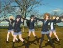 【MMD】 唯さん達に踊ってもらった。w (宮城県 亘理町 鳥の海)