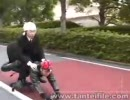 【あぶない探偵】人間バイク