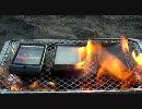 スマートフォンをグリルで焼いてみた