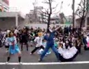 驚異的人数でハレ晴レユカイを踊るoff in