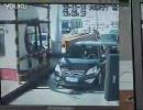 中国の交通事故の瞬間