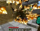 【minecraft】火事の動画にドリフの例の音楽を流してみた