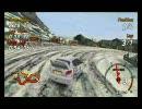 PSP SEGA RALLY REVO Arctic Track