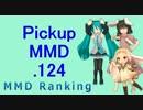 【MikuMikuDance】Pickupランキング.124
