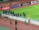 2007年長居スタジアム日本対エジプト戦