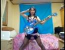 【けいおん!!】可愛い女の子がベースでCome with Me!!を弾いてみた