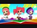 【第6回MMD杯本選】UTAU3人娘でWAVEFILE【カバー】