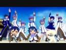 【軽量版】【MMD】KAITOとKAIKOだらけで「ZIGG-ZAGG」【※カオス注意※】