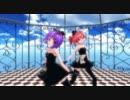 【MMD】デフォ子&テトで「カラフル×メロディ」