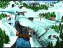 100分間耐久 ドンキーコング3 ワールド選択画面