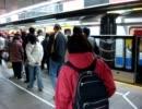 台湾MRTの乗車光景